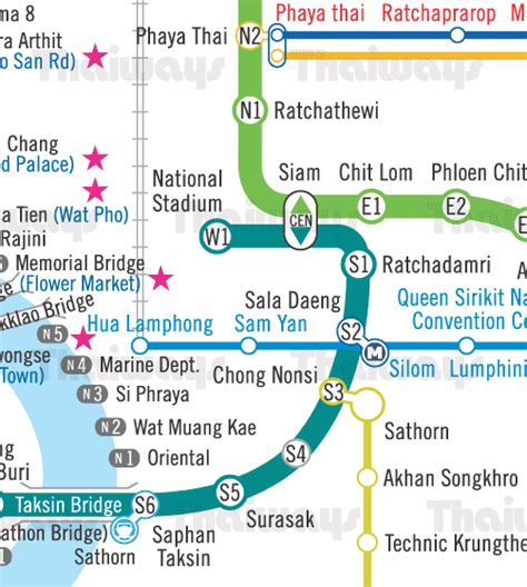 Skytrain & Metro Map