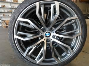 buy 22 quot bmw 375 x5 x6 replica wheels machined gunmetal