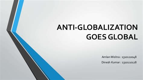 globalization and its discontents revisited anti globalization in the era of books anti globalization goes global