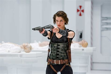 resident evil celebrities movies and games milla jovovich resident