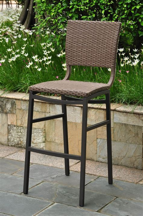 Outdoor Patio Bar Chairs Reviewing The Best Outdoor Bar Stools Outdoor Bar
