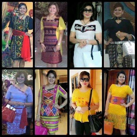 Dress Tenun Ntt Kombinasi tenun ikat ntt batik dan tenun ikat fashion