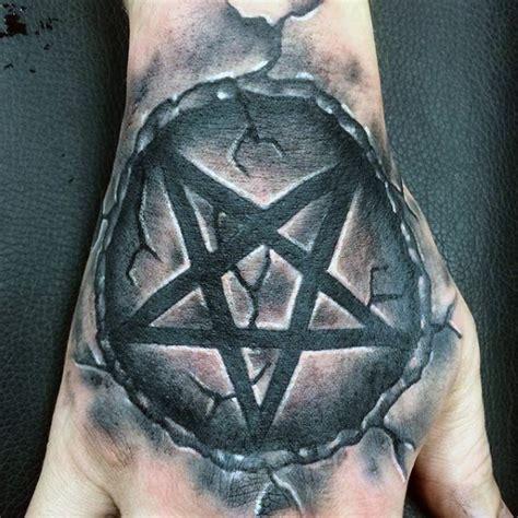 pentagon tattoo 50 pentagram designs for five pointed ideas