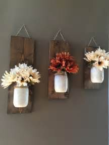Home Floral Decor by Best 25 Diy Rustic Decor Ideas On Pinterest Kitchen