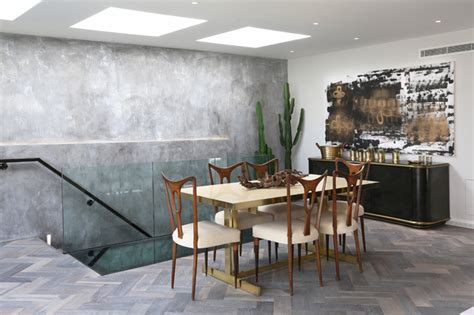 The Strand Dining Rooms by Luxury Penthouse On The Strand By Peek Architecture