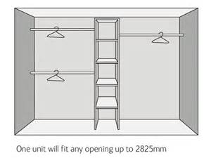 Bedroom Cupboards wardrobe interior kits economy range sliding wardrobe