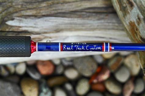 Handmade Fishing Rods - reel tech custom rods stunning patriotic custom www