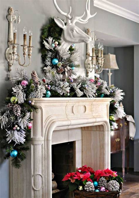 keeping cats from mantel decorations and trees d 233 coration de no 235 l 50 id 233 es cool pour votre int 233 rieur