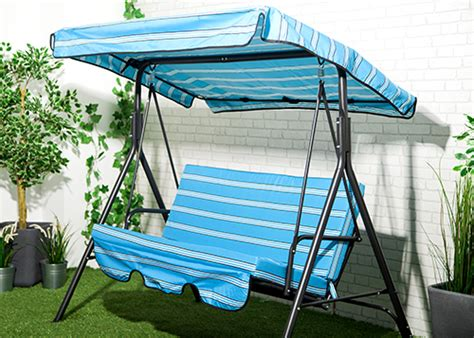 replacement 2 3 seater swing seat canopy cover cushion