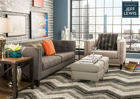 jeff lewis living room living spaces lofty living styled by jeff lewis love