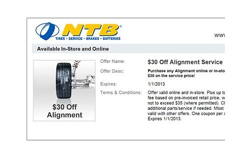 steering wheel alignment coupon