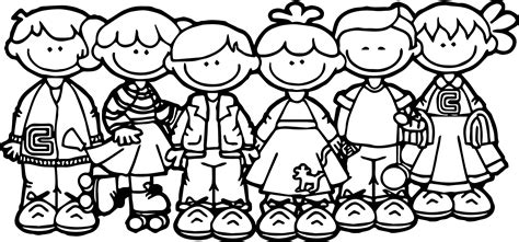 100 days of school children coloring page wecoloringpage