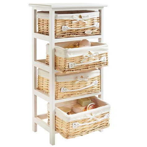 Bathroom Storage Cabinets With Wicker Drawers by Bathroom Storage Cabinets With Wicker Drawers Salem