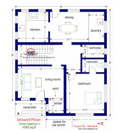 square house floor plans floor plan and elevation of 1925 sq villa kerala home design and floor plans