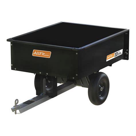 allfithd 10 cu ft 600 lb capacity steel dump cart af