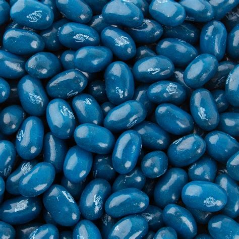 Light Blue Bean by Jelly Belly Blue Jelly Beans Blueberry Blue