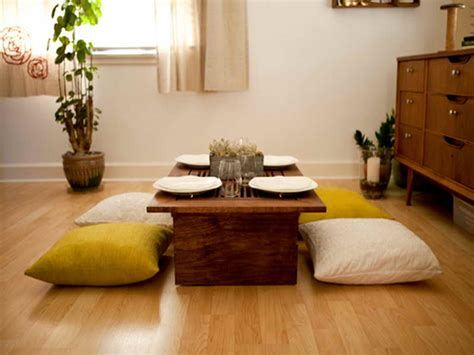 low dining room table delightful japanese style low dining table ideas awesome