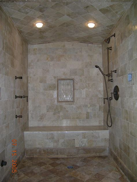 how to tile a shower ceiling shower tile images antiqued marble steam shower with