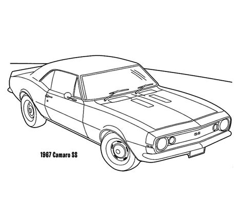 1967 camaro cars ss coloring pages 1967 camaro cars ss