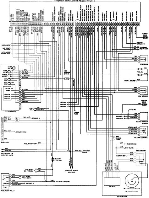 93 V6 4 3 Engine Diagram - Wiring Diagram Networks