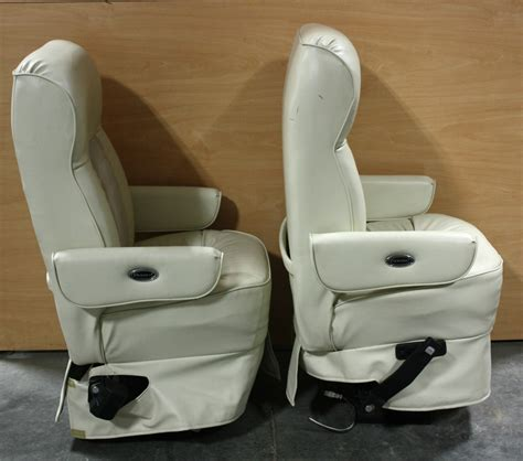 flexsteel rv captains chairs parts rv furniture used set of 2 flexsteel leather cloth