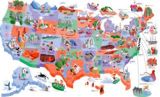 usa travel guide map