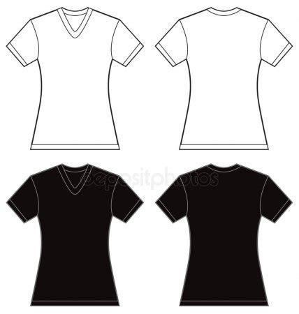 modelo de camisa gola v vetores de stock 169 airdone 34918757