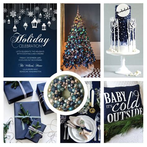 navy blue christmas decorations psoriasisguru com