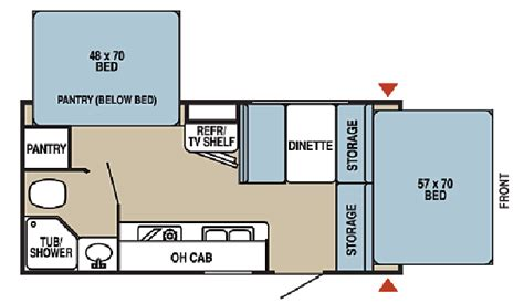 starcraft rv floor plans starcraft 18rb floorplan rv rentals san antonio