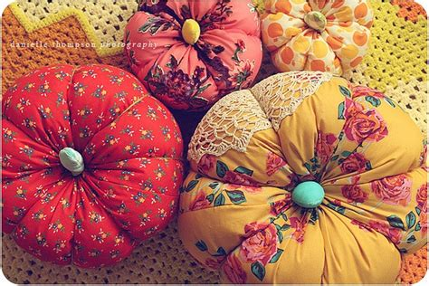 pattern for fabric pumpkins fabric pumpkin crafts pinterest colors pumpkins and