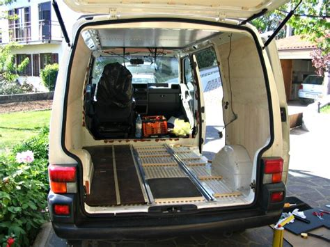Vw Campervan Upholstery Build Your Own Camper Van Tips And Ideas