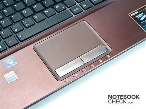 Touchpad Notebook Asus review asus x53e sx082v notebook notebookcheck net reviews