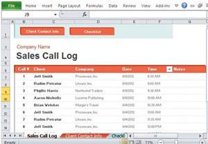 7 sales call log excel template for record customer
