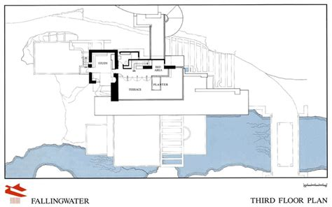 falling water floor plan pdf fallingwater drawings and plans fallingwater
