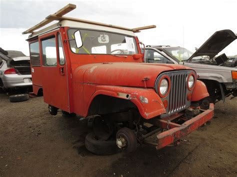 Dj Jeep Junkyard Find 1968 Kaiser Jeep Dj 5a With Factory Chevy