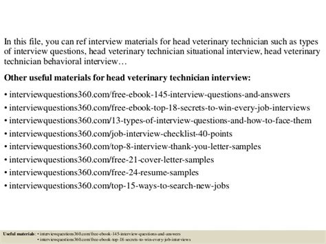 Veterinarian Questions by Top 10 Veterinary Technician Questions And Answers