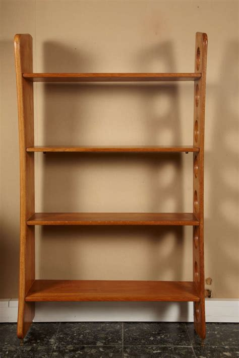 1950s asymmetrical bookcase by ren 233 gabriel at 1stdibs
