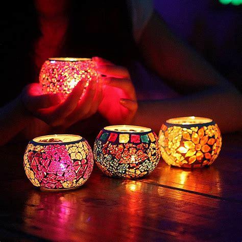 Home Decor Wholesale India online kaufen gro 223 handel mosaik kerzenhalter aus china