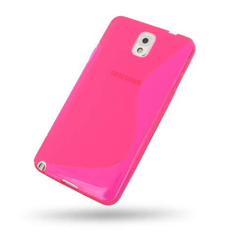 Softcase Samsung Note 3 samsung galaxy note 3 soft pink s shape pattern pdair 10