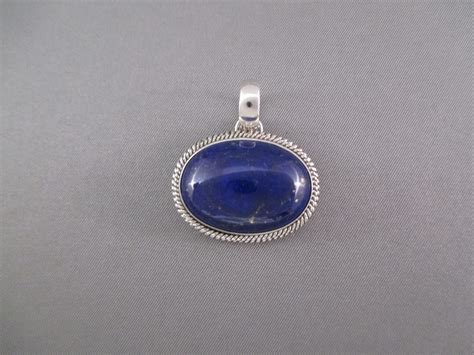 smaller lapis pendant by artie yellowhorse