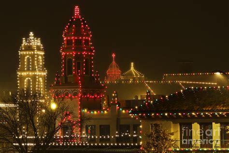 plaza christmas lights photograph by dennis hedberg