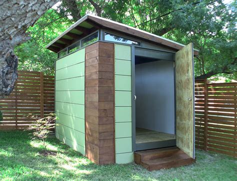 outdoor sheds transform everyday dwellings with kanga room systems