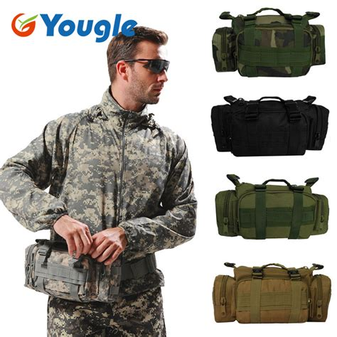 Army Tactical Pouch 01 yougle army tactical outdoor waist day pack