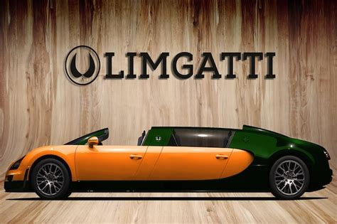 limousine bugatti 9 year old dreams up a bugatti limo concept