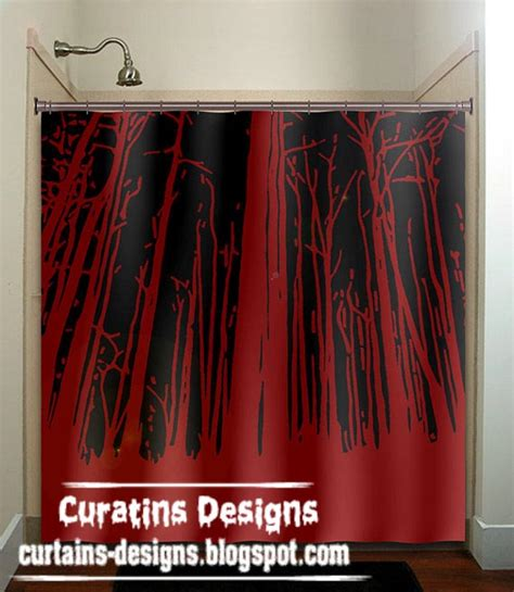 red bathroom shower curtains gallery of best shower curtain design ideas colors for