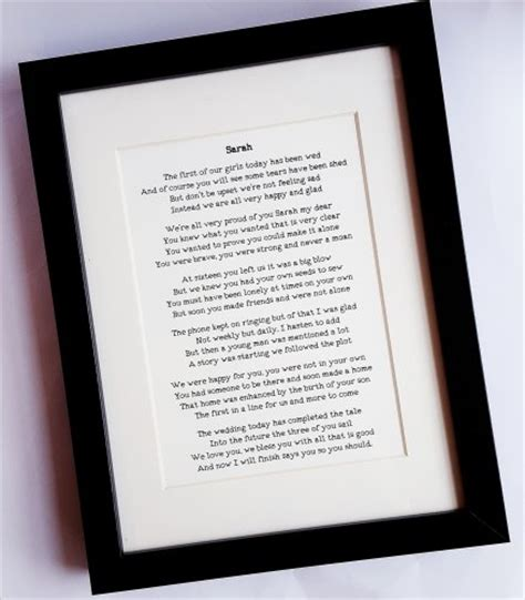 Wedding Vows Anniversary Gift by Anniversary Gift Wedding Present Personalised Gifts