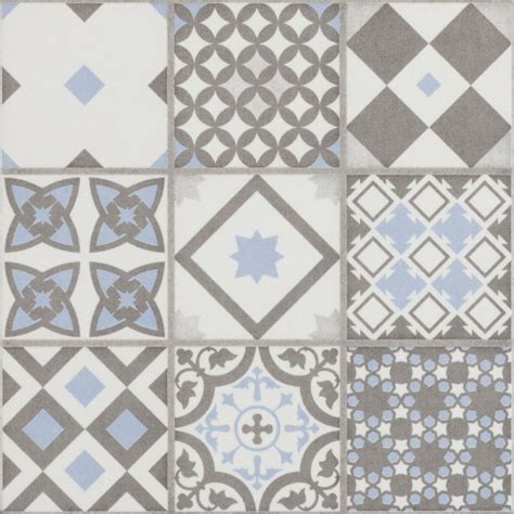 pattern tile sle vibe light blue mosaic patterned wall and floor tiles