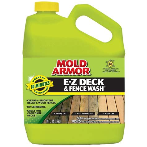 mold armor  gal   deck  fence wash fg  home