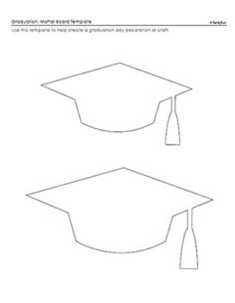 card hats templates graduation cap coloring page graduation cap coloring
