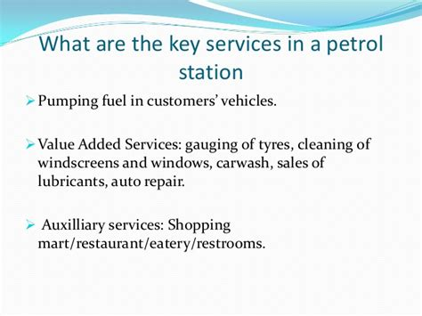 customer service training for mobil filling station